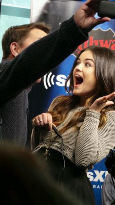 Lucy Hale is so stinkin' adorable