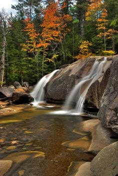Diana's Baths, New Hampshire My favorite place! West Side Rd. North Conway
