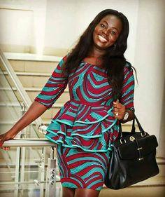 ~DKK ~ Latest African fashion, Ankara, kitenge, African women dresses, African p. African Fashion Ankara, Ghanaian Fashion, Latest African Fashion Dresses, African Dresses For Women, African Print Dresses, African Print Fashion, Africa Fashion, African Attire, African Wear