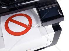 do not print - A printer printing a