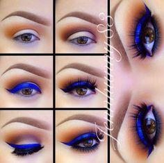 idéias que maquiagem para os olhos