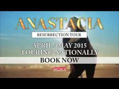 NEWS: It's official! Anastacia will be touring in Australia on April/May 2015! Find all the dates below! Pre-sale is live right now, with general public tickets on sale from 9am (EAST) on November 24.  https://www.facebook.com/anastaciaofficial/posts/10152846859928913?notif_t=notify_me
