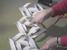 Paper Snowflake: Art and Craft for kids: How to make Christmas decoration - YouTube