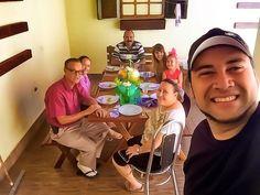 Tempo de Qualidade com a Família aqui em Casa!