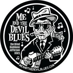 Today is the official launch of my new Blues comic strip - Me and the Devil Blues... The story of modern day Blues man Blind Hambone Jefferson, who sold his soul to the devil to get famous, but it's not going according to plan!   Get a Free Me and the Devil Blues sticker with any blues t-shirt purchase at www.mojohand.com during the month of january.. and be sure to visit the official comic website www.meandthedevilblues.com