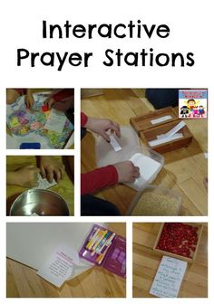 Interactive Prayer stations