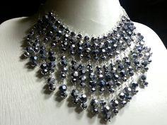 """Collar """"Emperatriz"""" - Cristales Checos / Ed Art Accesorios"""