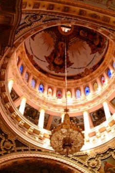 Interior del Templo de San Antonio Aguascalientes, Mexico