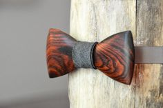 Wooden Bow Ties - Handmade Bow Ties From Reclaimed Exotic Wood – Crooked Branch Studio Wooden Gifts, Handmade Wooden, Wooden Bow Tie, Got Wood, Chiffon, Wooden Jewelry, Ribbon Bows, Wood Carving, Wood Projects