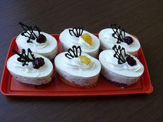 skaja   Pečení Cheesecake, Cupcakes, Desserts, Vanilla Cream, Tailgate Desserts, Deserts, Cheese Pies, Cupcake, Cheesecakes