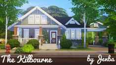 Sims 4 Updates: Jenba Sims - Houses and Lots, Residential Lots : The Kilbourne house, Custom Content Download!