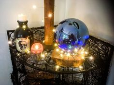 With Halloween just over a month away, it's all I've been thinking about when it comes to DIY projects. And what began as a garden gazing ball idea quickly became the perfect bit of seasonal decor for my witch-inspired Halloween plans.To find out how I used school glue and food colouring to create an enchanting crystal ball, keep reading!P.S. the best thing about this project is that it works for Halloween, as well as spring! With a simple change in placement and display, this crystal ball ... Diy Pumpkin, Cute Pumpkin, Halloween Season, Fall Halloween, Diy Halloween Apothecary Jars, Making A Compost Bin, Halloween Bath Bombs, Dollar Store Halloween, Diy Halloween Decorations