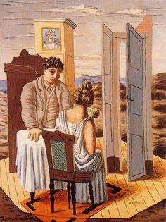 Conversation - Giorgio de Chirico.