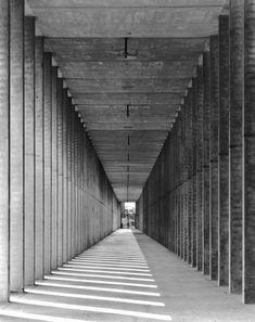 Gabriele Basilico : Modena, Cemetery of San Cataldo (1971-1984) | Architect :  Aldo Rossi | Photo © Gabriele Basilico