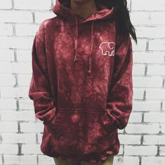 http://www.fashion2do.com/category/ivory-ella/ Oversized Maroon Acid Wash Tie-Dye Hoodie – Ivory Ella