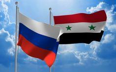 russia syria flag