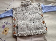 (6) Name: 'Knitting : Saoirse Baby Poncho, Cape, Tabard