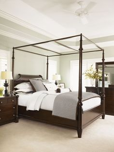 Shop for a cindy crawford home trinidad 6 pc king canopy bedroom at rooms to go find bedroom - Appealing bedroom beds designs comfortable sleeping area ...