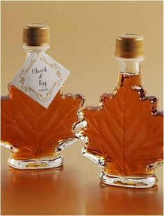 find this pin and more on crafts projects that would be a cool fall wedding favor real maple syrup
