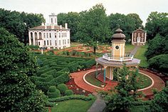 Victorian District, Missouri Botanical Garden