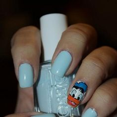 Essie - Borrowed and Blue  Donald Duck :)