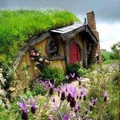 Hobbit House ,Rotura, New Zealand