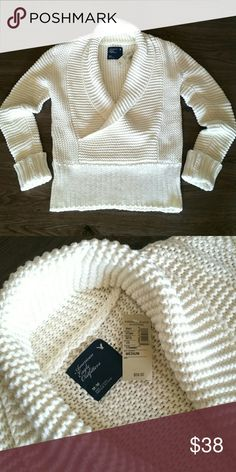 NWT!  Soft AE Cable Knit Sweater NWT!  Women's American Eagle Ivory Cable Knit Sweater, Super Soft!! sz M, MSRP $ 59.50 American Eagle Outfitters Sweaters