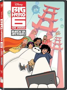 The Big Hero 6 the Series Premiere Weekend Is Almost Here and We're So Ready The Big Hero, Hiro Big Hero 6, Baymax, Animation Series, Disney Animation, Disnney Channel, Tv Series Online, Movies Online, Big Hero 6