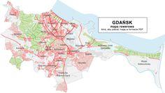Mapa rowerowa - Rowerowy Gdansk