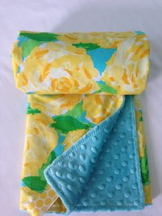 09dc2a74e27 Lilly Pulitzer Baby Blanket Lilly Pulitzer by SweetBabyBurpies Preppy Baby  Girl