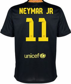 NIKE FC BARCELONA NEYMAR JR. YOUTH THIRD JERSEY 2013 14 Mes Que Un Club!  This is Barca s new third jersey for the 2013 14 season. c05d22b8f500c