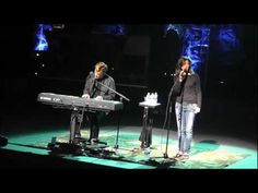 Michael W. Smith & Amy Grant - I learned how to sing by watching and listening to them for years.
