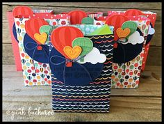 Hello everyone! Today, I am going to show you the fun treat I made for my downline swap last week. Each month, we have a swap theme and this month's theme was Sale A Bration. I chose to make the Carri