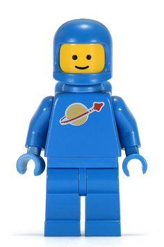 80's lego spaceman
