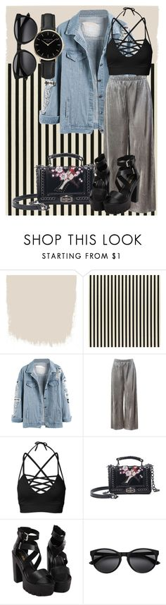 """#1"" by yasminpryor on Polyvore featuring Sans Souci and ROSEFIELD"