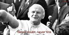 Saint John Paul II:)