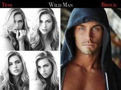 "Tessa O'Hara & Brock ""Slim"" Lucas ""Wild Man"" by Kristen Ashley"