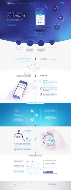 Instamacro Web Design & Development - BigDropInc.com