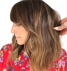 bob with bangs 50 Best and Stylish Ideas for Long Bob Haircuts We Adore in 2019 Buying Long Bob Haircut With Bangs, Modern Bob Haircut, Shaggy Bob Haircut, Long Bob Haircuts, Haircuts With Bangs, Stylish Haircuts, Modern Hairstyles, Trending Hairstyles, Carmel Hair
