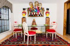 My Houzz: An Austin Stylist's Technicolor Christmas Home