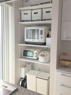 【WEB内覧会】キッチンの背面収納(主に自在棚)   SE共働きのスマートハウス