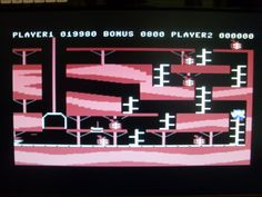 Bagitman for the Commodore 64. Loved this game,