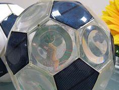solar powered soccer ball