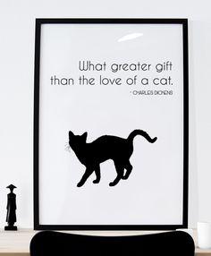http://etsy.me/2kVUAbD  #Cats #Gift #Idea #Etsy #Print #WallArt #Digital #Download #Printable #Quote #Inspirational #Motivational #Cheap #EtsyFinds #EtsyForAll #Stampe #Prints #Decor #EtsyHunter #etsyseller #art #black #instalove #instalike #cats #pets #cute #kitten #dickens Wonderful Wall Art Designs to Brighten your Life!