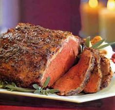 Roast tenderloin, Prime Rib, and New York for special occasions. New York Roast Strip Loin Recipe is about how to cook a New York roast from Real Restaurant Recipes beef recipes collection.