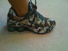 Camo Nike Shocks..totally loving these <3