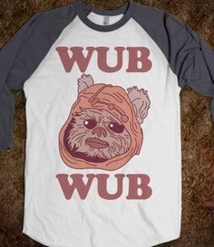 Aweeeeee. I Wub Wub me an Ewok.