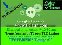 TODOS LOS DÍAS TOTAL LIFE CHANGES, LA COMPAÑÍA # 1 EN TODO EL MUNDO Y EL EQUIPO #1 MUNDIAL!! www.tlclatin.com  #tlclatino  #dineroencasa #negocioencasa