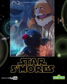 "... the new @sesamestreet parody ""Star S'mores"" at http://bit.l..."