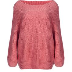 Yoins Classic Watermelon Red Off Shoulder Long Sleeves Knit Sweater (1.745 RUB) ❤ liked on Polyvore featuring tops, sweaters, coral, off the shoulder tops, off shoulder sweater, knit sweater, red off the shoulder sweater and off the shoulder knit sweater